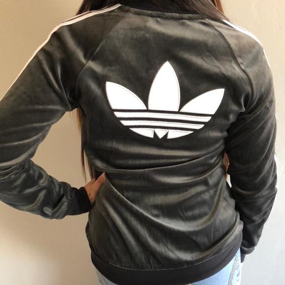 3c476f63d48f NEW Adidas Velour Jacket